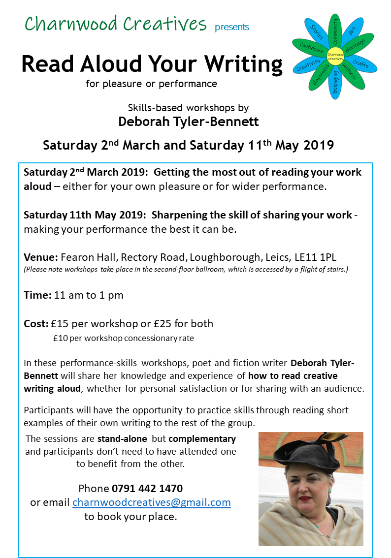 DTB performance workshops March 2019